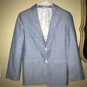 Izod chambray blazer